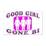 Good Girl Gone Bi 20x12 Wall Decal