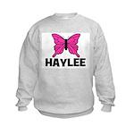 Butterfly - Haylee Kids Sweatshirt