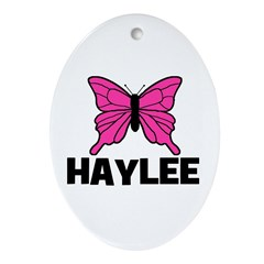 Butterfly - Haylee Oval Ornament