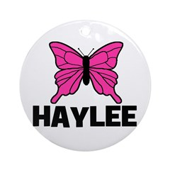 Butterfly - Haylee Ornament (Round)