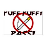 Puff Puff Pass 20x12 Wall Decal