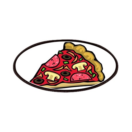 Pizza My Heart Patches