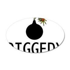 Bombdiggedy Wall Decal
