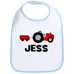 Tractor Jess Bib