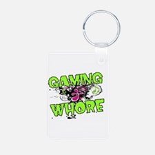 Gaming Whore Keychains