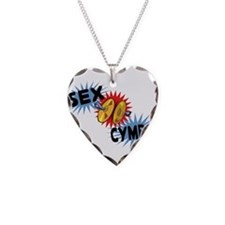 Sex Cymbal Necklace Heart Charm