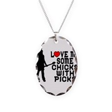Chicks With Picks Necklace
