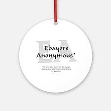 Ebayers Anonymous Ornament (Round)