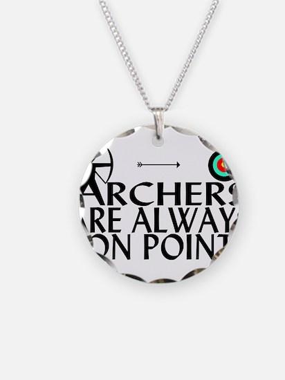 Archers On Point Necklace