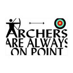 Archers On Point 35x21 Wall Decal