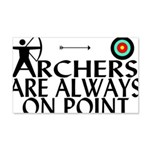 Archers On Point 20x12 Wall Decal