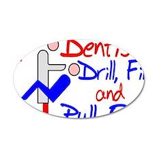 Dentists Drill Wall Sticker