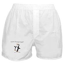 Dancing Penguin Boxer Shorts