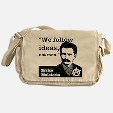 We Follow Ideas - Malatesta Messenger Bag