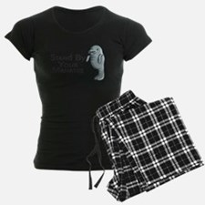 Stand By Your Manatee.png Pajamas