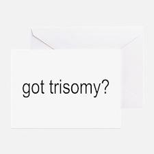 got trisomy? Greeting Cards (Pk of 10)