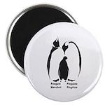 Multilingual Penguins Magnet