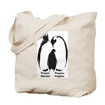 Multilingual Penguins (2-Sided) Tote Bag