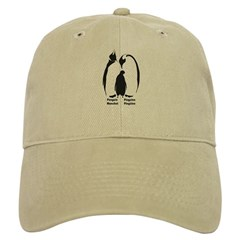 Multilingual Penguins Baseball Cap