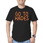 Go To Hades Men's Fitted T-Shirt (dark)