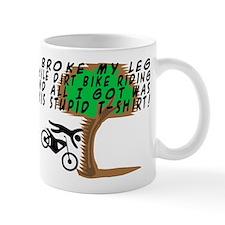 Dirt Bike Into Tree Mug