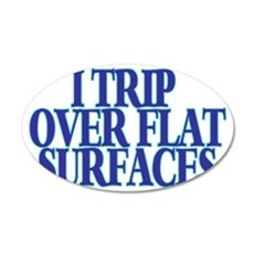 Trip Over Wall Decal