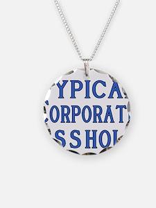 Corporate A Hole Necklace