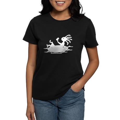Kokopelli Tuber Women's Dark T-Shirt