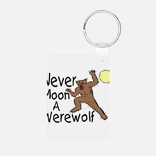 Moon A Werewolf Aluminum Photo Keychain