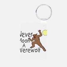 Moon A Werewolf Keychains