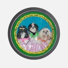 Shih Tzu Spring Easter Valentine Watercolor Wall C
