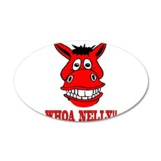 Horse Says Whoa Nelly Wall Decal