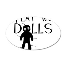 Play With Dolls Wall Decal
