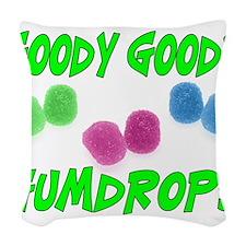 Goody Gumdrops Woven Throw Pillow