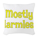 Harmless Woven Throw Pillow
