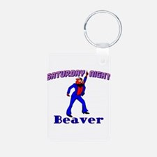 Disco Beaver Keychains