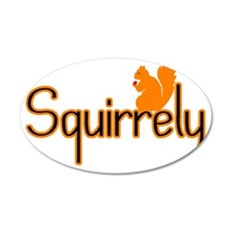 Squirrely Wall Decal