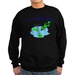 Froggy Dipping Sweatshirt (dark)