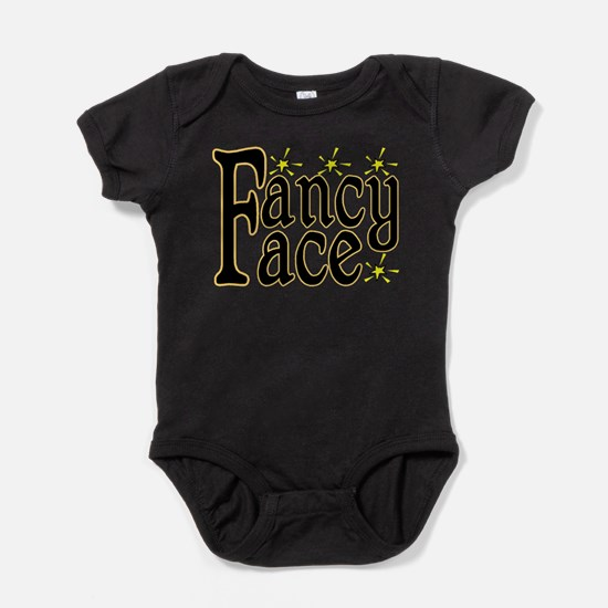 Fancy Face Baby Bodysuit