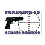 Serious Fragging 20x12 Wall Decal