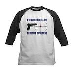 Serious Fragging Kids Baseball Jersey