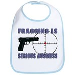 Serious Fragging Bib