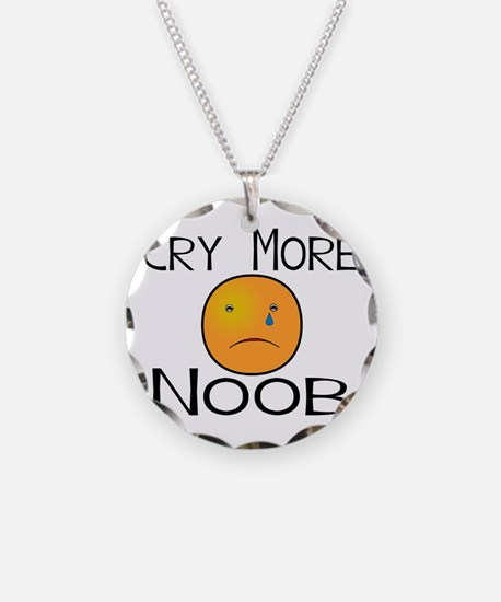 Cry Noob.png Necklace