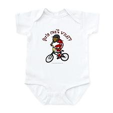 Dark Red BMX Infant Bodysuit