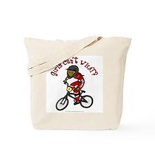 Dark Red BMX Tote Bag