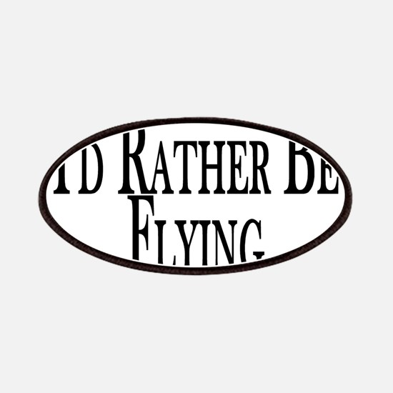 Rather Be Flying Patches