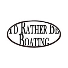 Rather Be Boating Patches