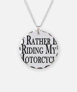 Cute Motorcycle Necklace