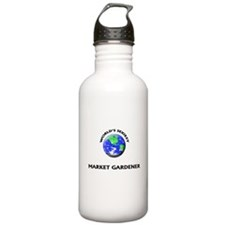 World's Sexiest Market Gardener Water Bottle