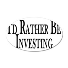 Rather Be Investing Wall Decal